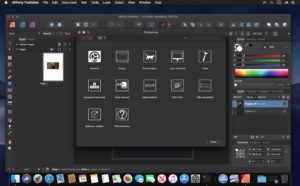 download Affinity Publisher 1.8 for Mac setup free