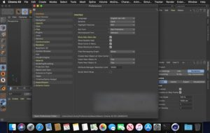 Download Maxon CINEMA 4D Studio R21.207 for Mac Free