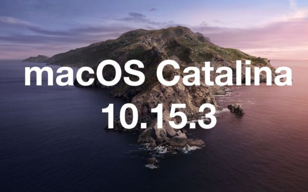 macOS Catalina 10.15.3 Free Download